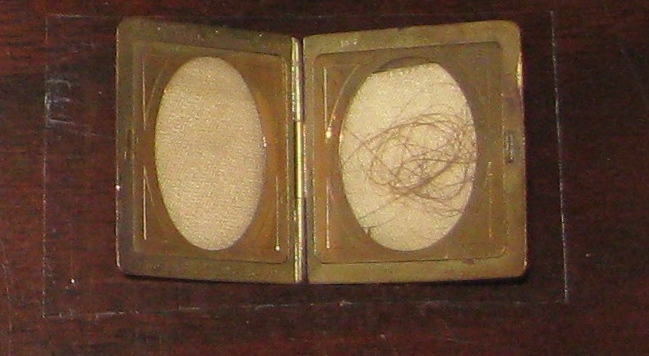Lock of Abraham Lincoln's hair