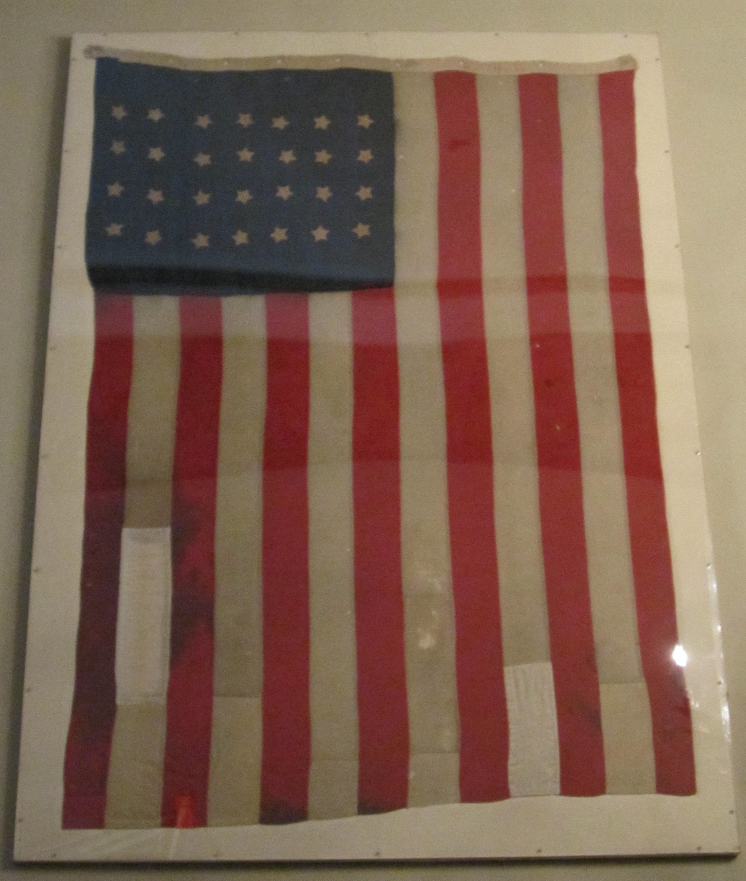 Maria Fassett Harvey Flag