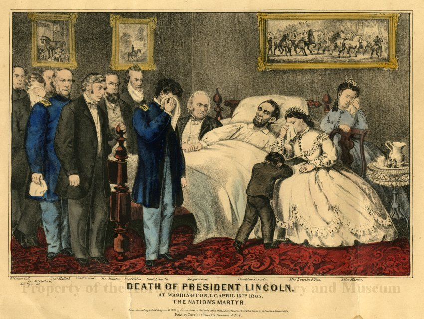 Image result for president lincoln dies