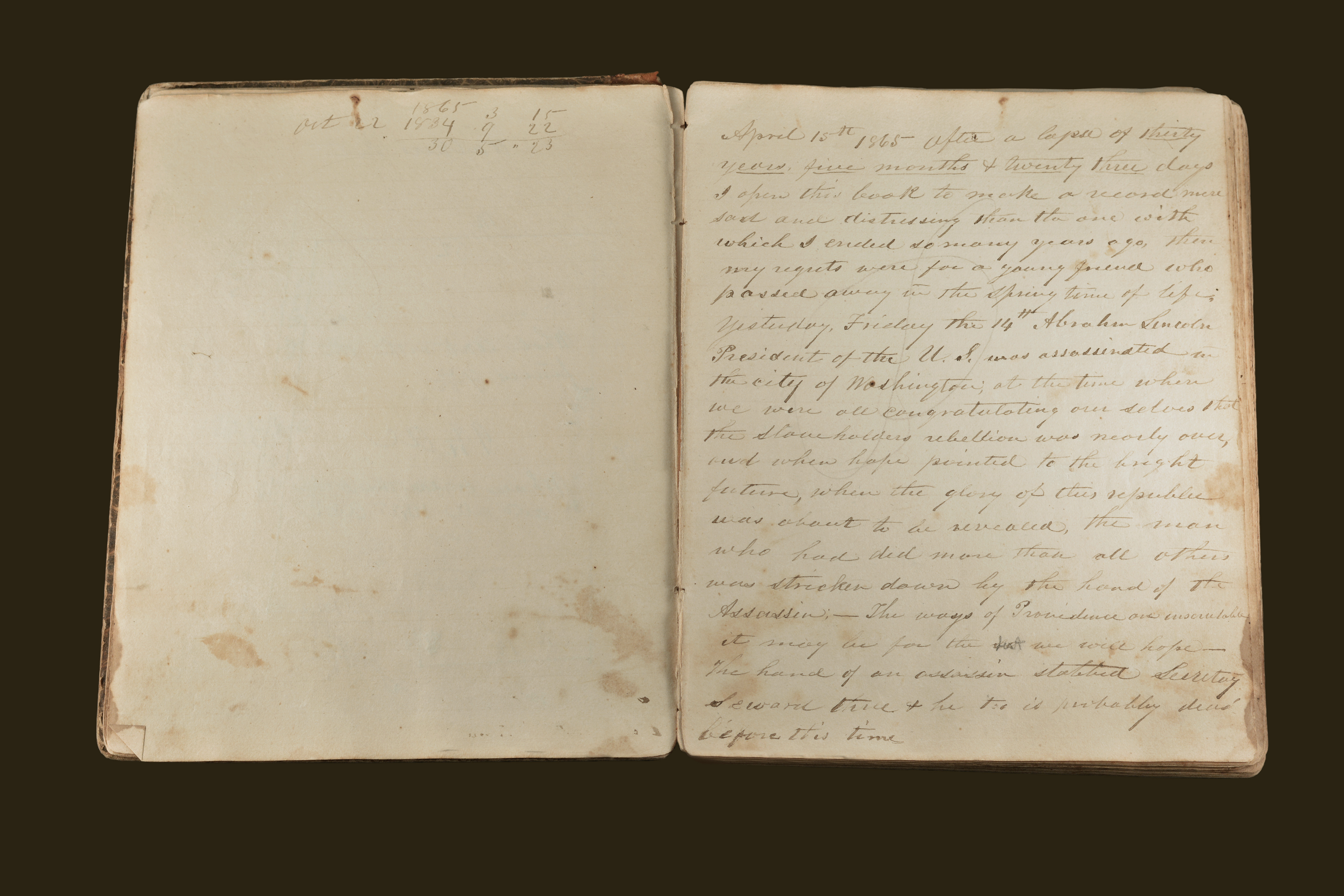 Dr. Moses Gage Diary