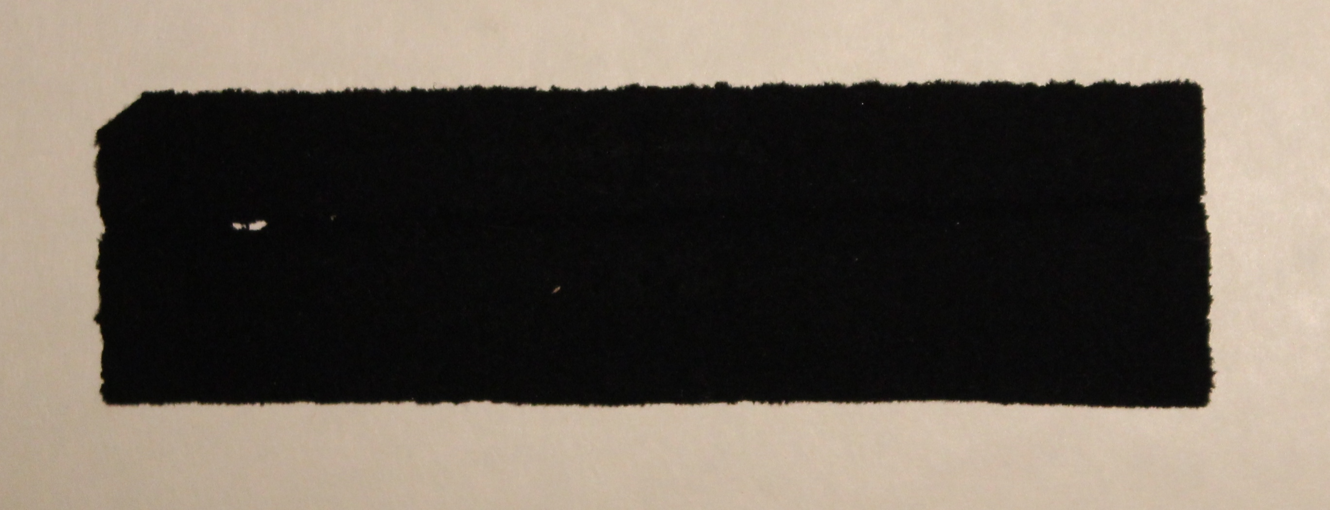 Fragment of Mrs. Lincoln's Funeral Dress