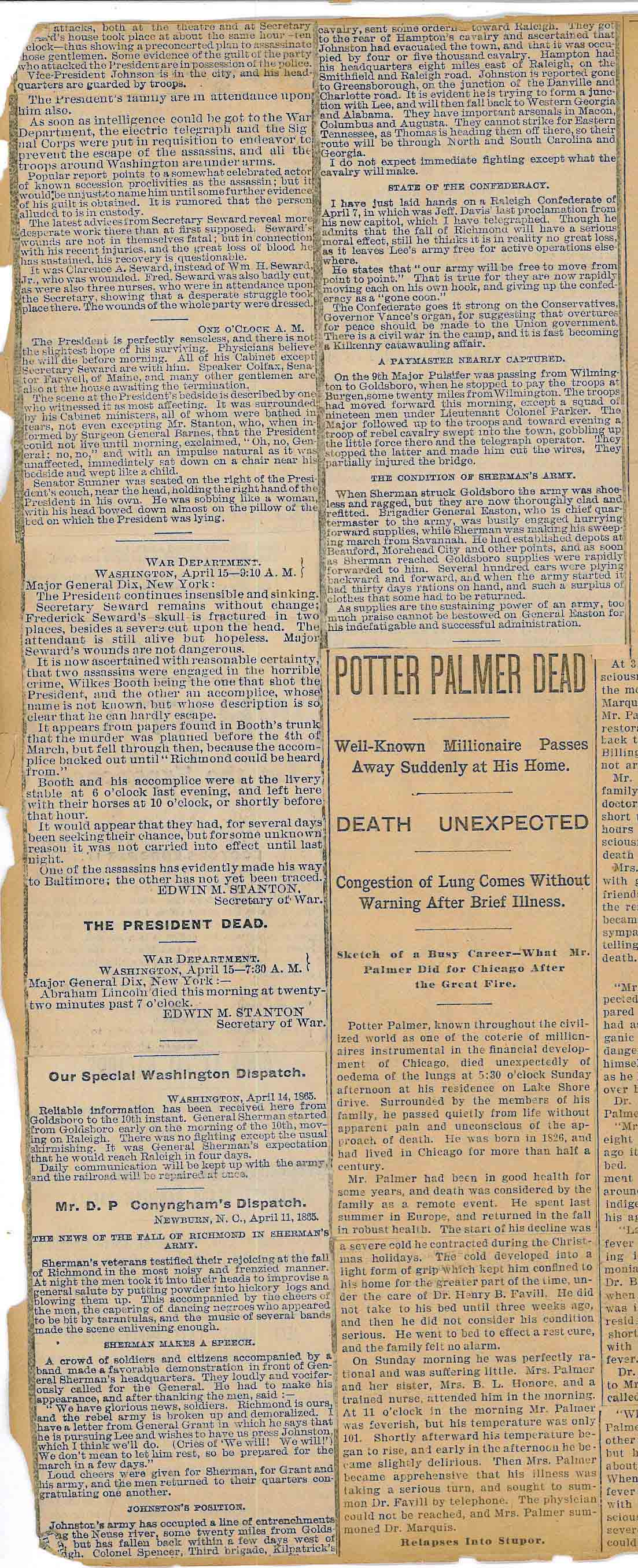 News Clipping – Details of Assassination pt. 2