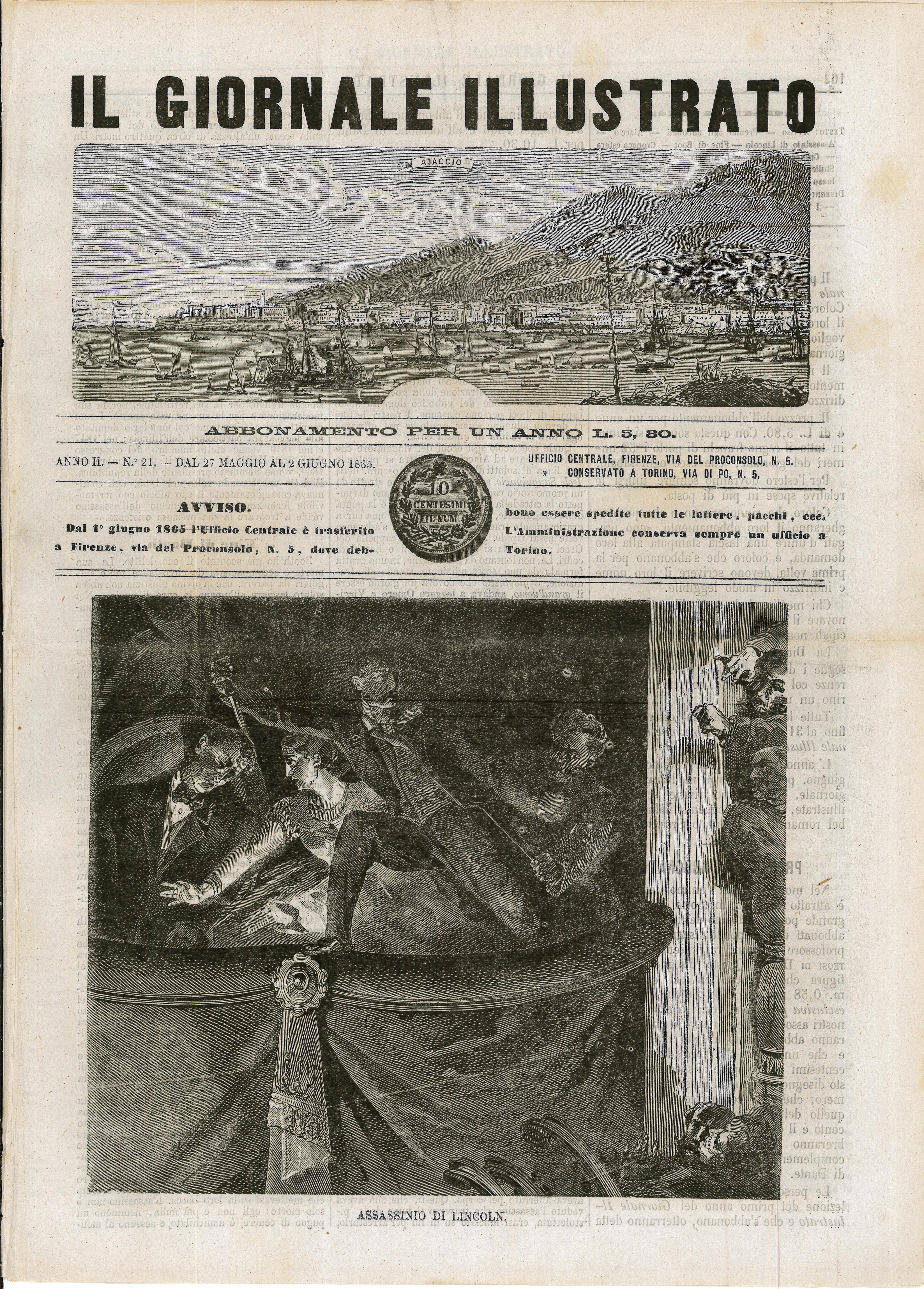 Newspaper – Il Giornale Illustrato pg 1