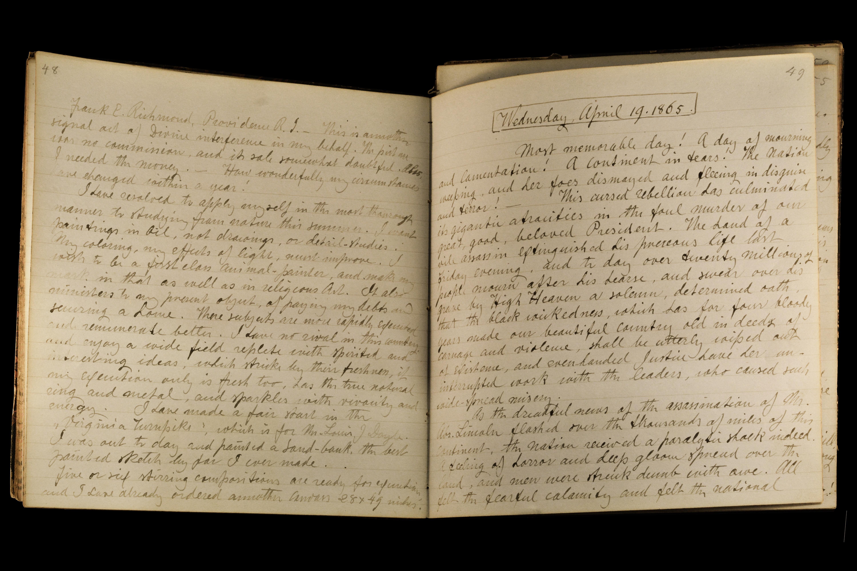 Johannes Oertel Diary
