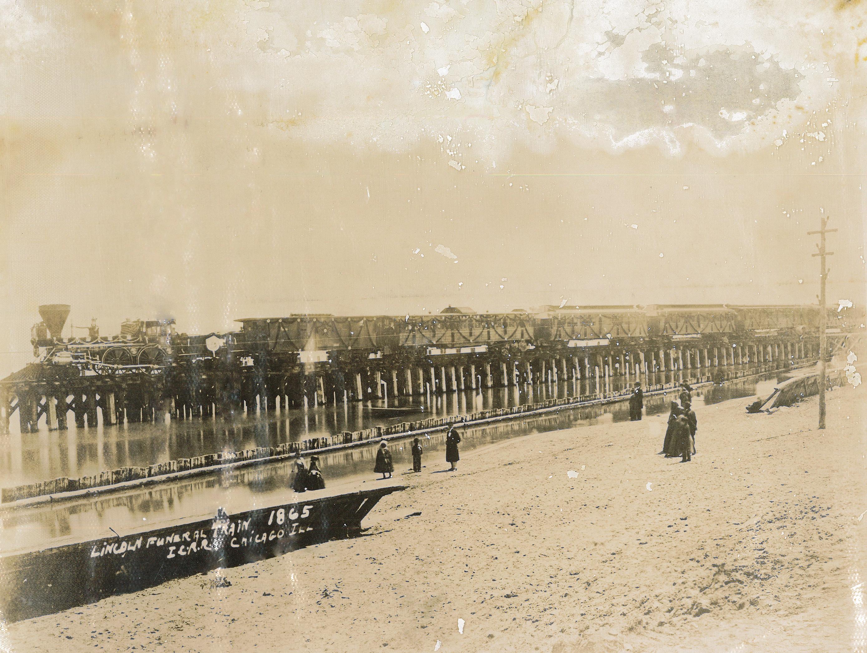 Photograph – Lincoln Funeral Train