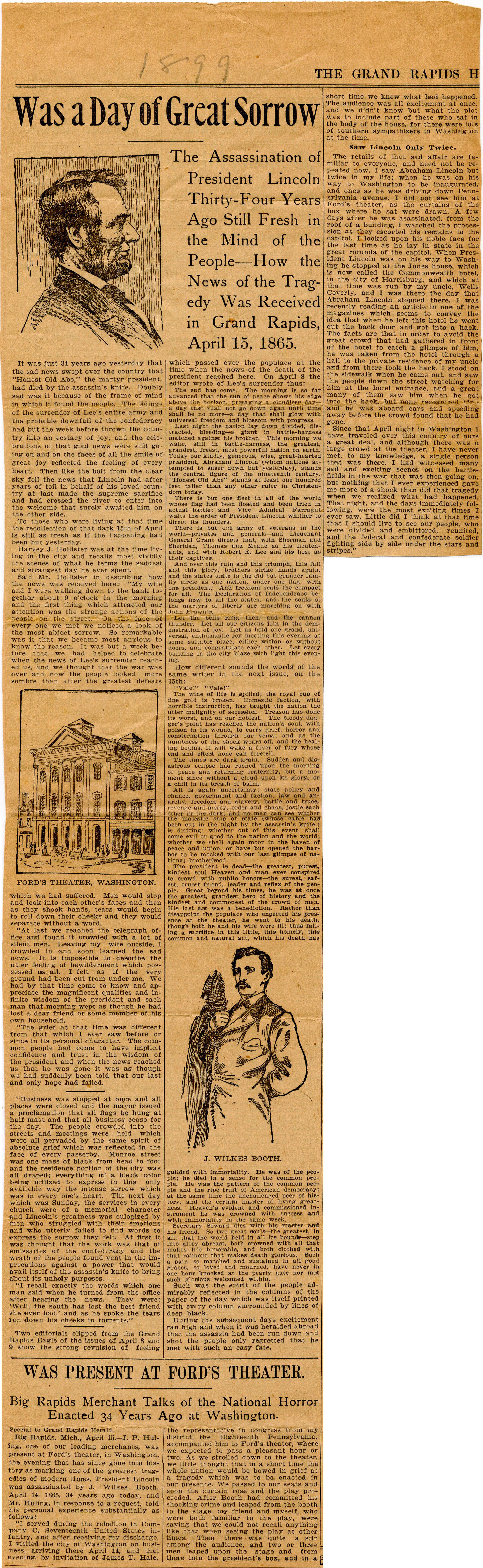 Grand Rapids Herald Articles
