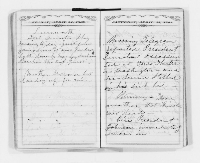 Susan B. Anthony's Diary
