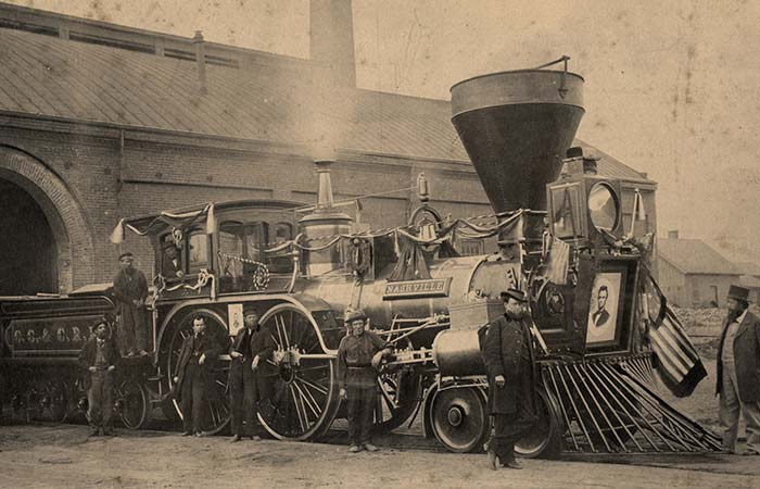 Lincoln's Funeral Train Image