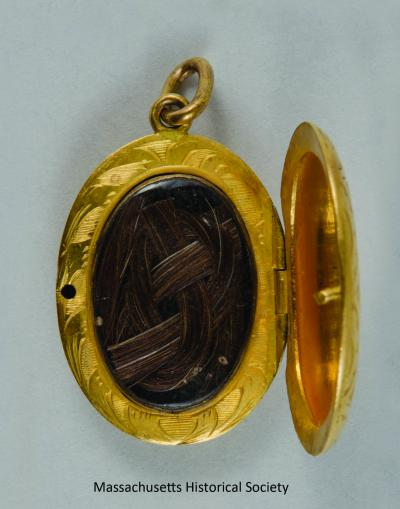 Abraham Lincoln hair locket