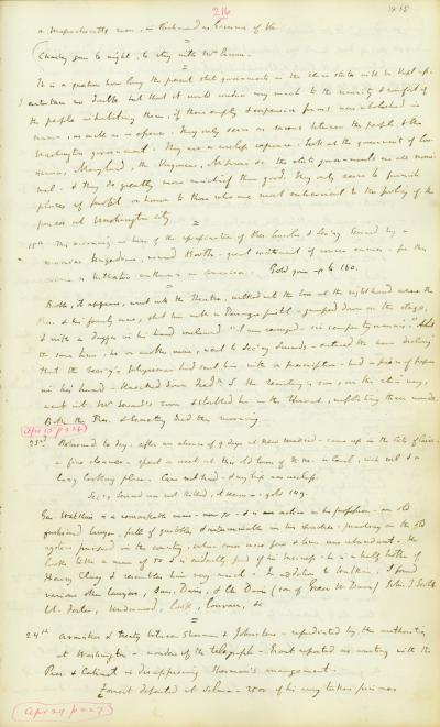 Diary of William B. Napton, February 6, 1863-May 18, 1868