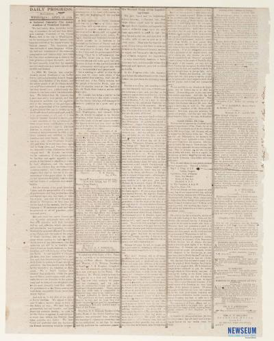 The Daily Progress, April 19, 1865