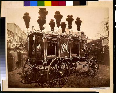 President Abraham Lincoln's hearse, Springfield