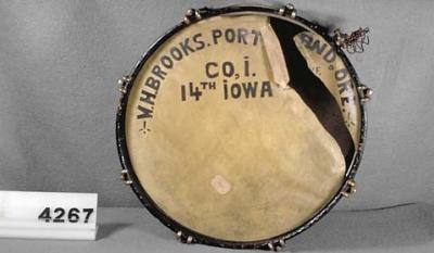 Drum played at the funeral of Abraham Lincoln