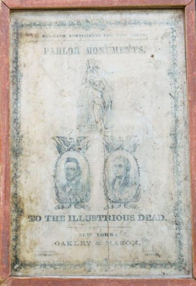 Parlor Monuments, to the Illustrious Dead