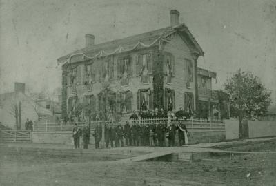 Photograph of Lincoln's Funeral Party