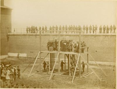 Execution of the Lincoln Assassination Conspirators