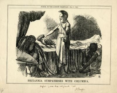 Britannia Sympathises with Columbia