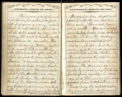 Abigail M. Brook's Diary
