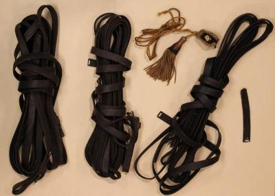 LaRue Funeral Carriage Tassel and Reins