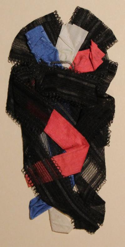 Black, Red, White, and Blue Mourning Ribbon