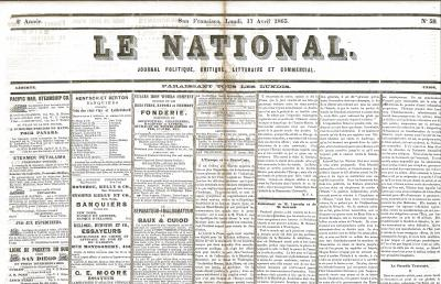 Newspaper – Le National pt 1