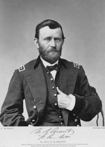 Ulysses S. Grant in Mourning