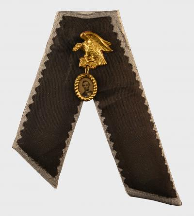Mourning Ribbon Souvenir