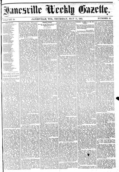 Janesville Weekly Gazette