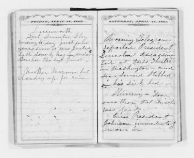 Susan B. Anthony's Diary